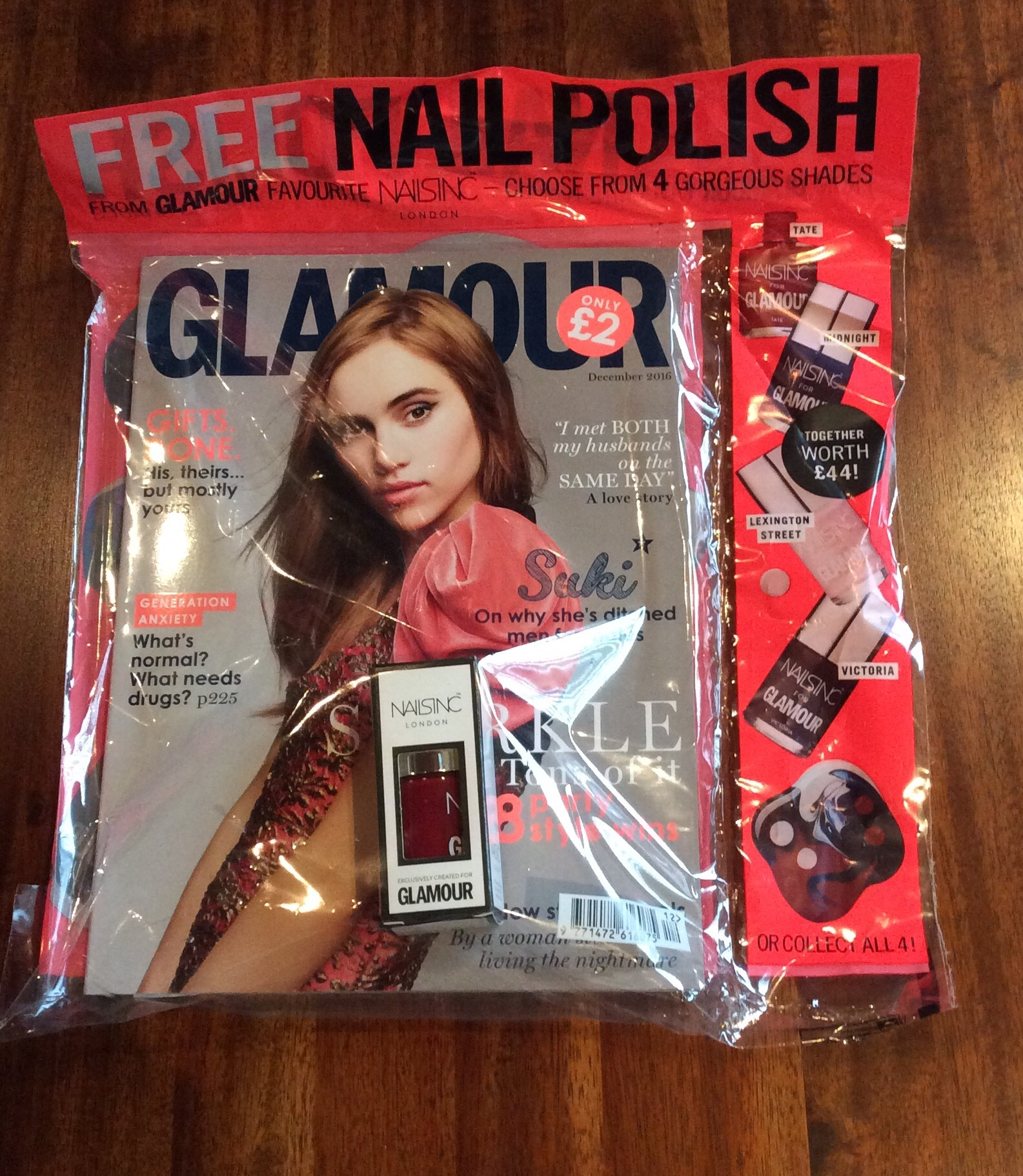 Magazine Freebies – December 2016 – Beauty Fashion Chit Chat
